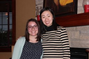Kayla Mantey with Dr. Wei Gu